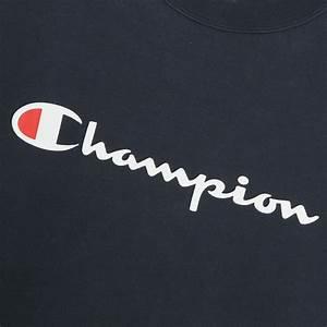 Levis Size Chart Champion Champion Long Logo Sweatshirt 01 Black