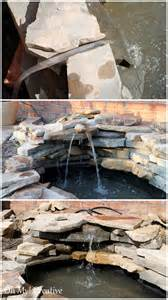 Feature Water Backyard Pond DIY