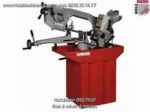 Scie à Ruban : holzmann bs275gp scie ruban metaux machine m taux ~ Edinachiropracticcenter.com Idées de Décoration