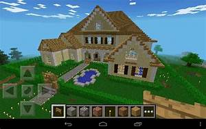 Minecraft wooden house My build of the Large modern house ...