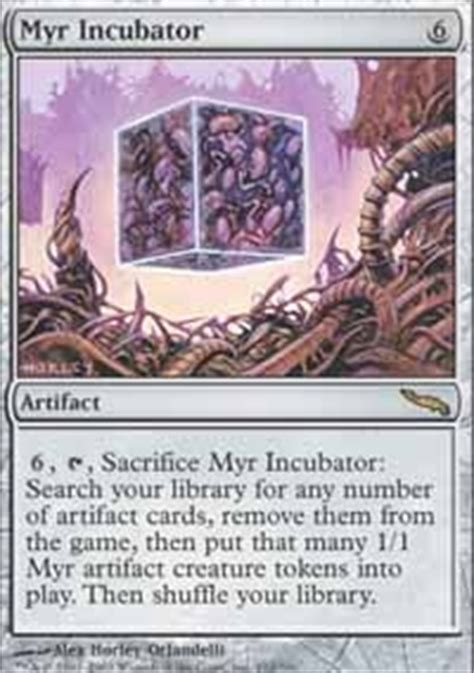 Mtg Myr Deck Modern by Small Metal Boys Myr Modern Mtg Deck