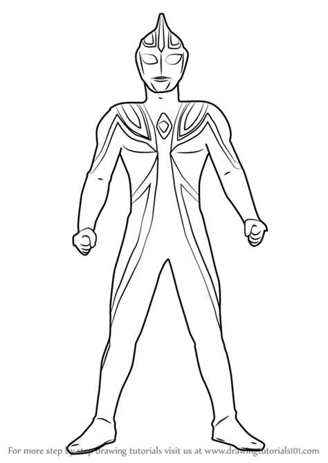 Coloring Ultraman Geed by Catatanku Anak Desa Gambar Mewarnai Ultraman Geed