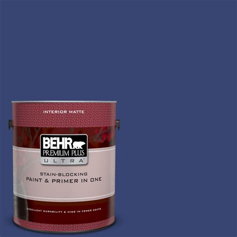 behr premium plus ultra 1 gal t18 18 constellation blue