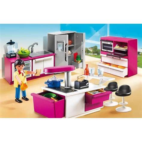 cuisine schuller prix playmobil 5582 cuisine avec îlot achat vente univers miniature cdiscount
