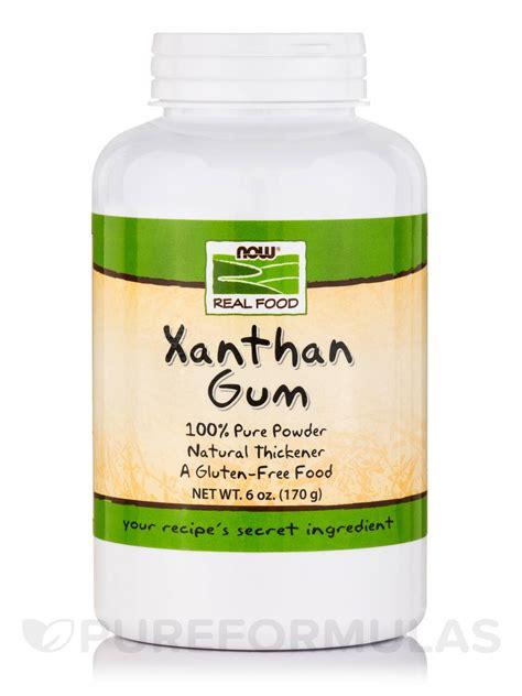 now real food 174 xanthan gum powder 6 oz 170 grams