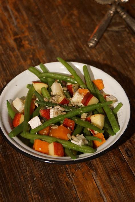 dans ma cuisine salade d haricots verts d automne dans ma cuisine