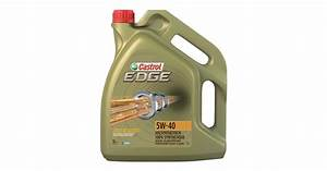 Huile Castrol 5w40 : huile moteur castrol edge fst 5w40 5l gt2i ~ Medecine-chirurgie-esthetiques.com Avis de Voitures
