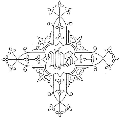 Ecclesiastical Embroidery Patterns