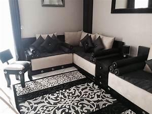 salon marocain moderne With tapis de yoga avec canapé oriental pas cher