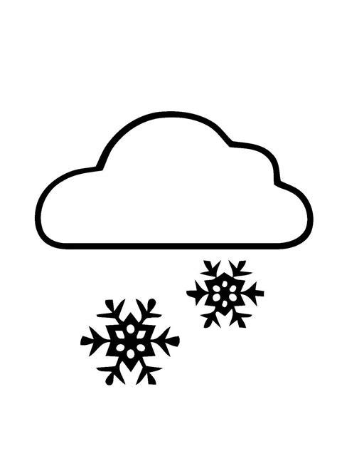 disegno da colorare  neve disegni da colorare  stampare gratis imm