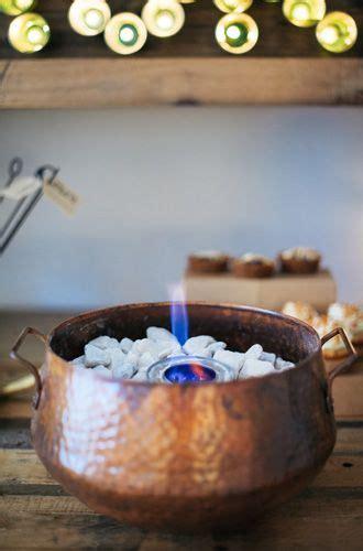 diy indoor tabletop fire pit  smores desserts