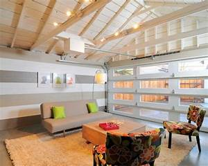 10 garage conversion ideas to improve your home paint for What kind of paint to use on kitchen cabinets for north carolina wall art