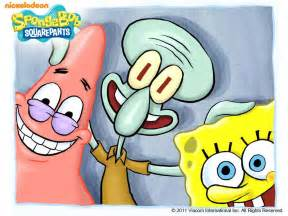 spongebob,patrick and squidward - spongebob the best Wallpaper