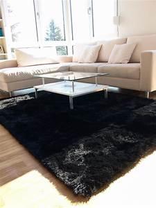 tapis shaggy gris beige noir taupe 2017 avec tapis poil With tapis moderne avec canapé taupe pas cher