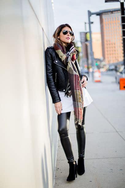 pam hetlinger  girl  panama blogger leather