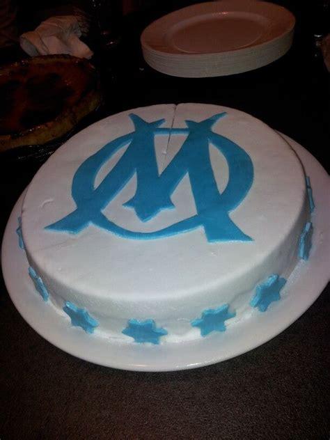 Gâteau maillot de football : Gâteau Olympique de Marseille | Gateau, Olympique de marseille
