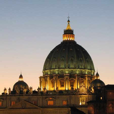 Chi Ha Progettato La Cupola Di San Pietro by La Magica Illusione Della Cupola Di San Pietro