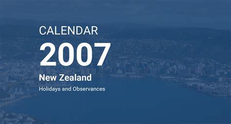 year calendar zealand
