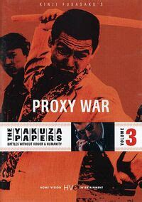yakuza papers vol  proxy war eiga wiki fandom