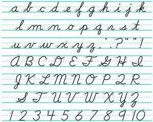 Cursive Alphabet  Your Guide To Cursive Writing