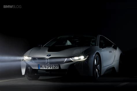 bmw i8 headlights our experience with the bmw i8 laser headlights at night