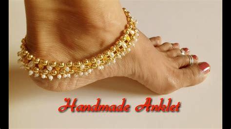 diy    anklets  home silk thread
