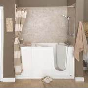 Handicap Tub Shower Combo by Walk In Tubs Walk In Tub Shower And Tub Shower Combo On Pinterest