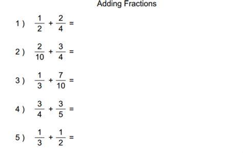 5th grade math worksheet subtracting fractions 5th grade math resources math chimp