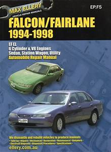 Ford Falcon Fairlane Ef El Repair Manual 1994