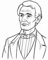Coloring Lincoln Presidents Abraham Pages Happy President Sheets Young Printable Preschool Clipart Washington George Birthday Fun Getcoloringpages Clip Facts Crafts sketch template