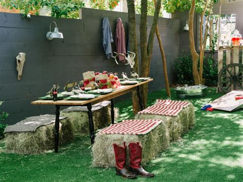 host  backyard barbecue wedding shower diy