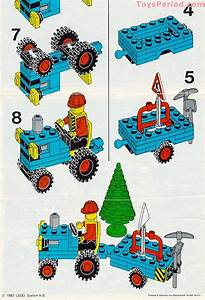 Lego 6647 Highway Repair Set Parts Inventory And