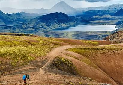 Laugavegur Trail Hiking Hike Iceland