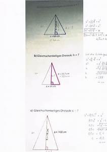 Gleichschenkliges Dreieck C Berechnen : pythagoras kennzeichne in den beispielen das ~ Themetempest.com Abrechnung