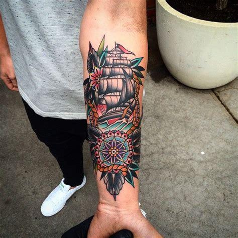 Best 25+ Nautical Tattoo Sleeve Ideas On Pinterest Ship