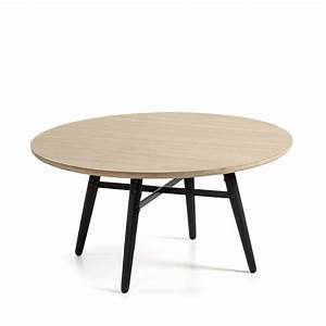 Table Basse Ronde Bois : table basse ronde bois ch ne 80 ray by drawer ~ Melissatoandfro.com Idées de Décoration