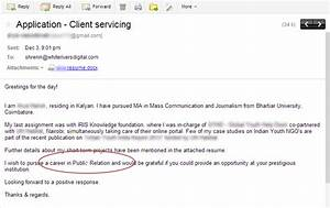 top 10 ways of not getting selected in the first round at With how to send resume via email