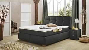 Möbel Xxl De : boxspringbett chiara bett schlafzimmerbett in antik grau mit topper ~ Yasmunasinghe.com Haus und Dekorationen