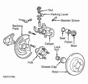Trying To Find A Diagram Of Parking Brake Installation On