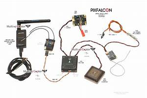 Pixfalcon Mini Pixhawk Px4 Autopilot For Survey Holybro