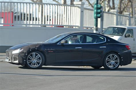 Maserati Ghibli Facelift Due In Early 2018