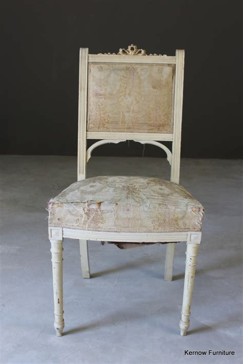 shabby chic vintage chair single occasional vintage shabby chic french white chair 163 65 00 picclick uk