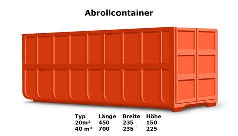 preise fuer die container entsorgung muenchen und umland