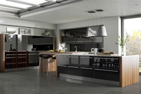 cuisine ultra moderne davaus cuisine equipee noir but avec des idées