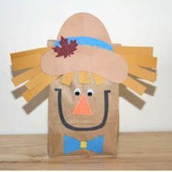 scarecrow crafts for preschoolers paper bag scarecrow 844