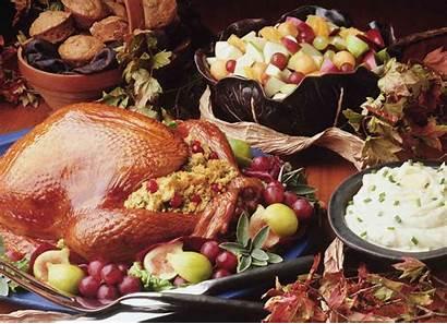 Thanksgiving Turkey Dinner Wallpapers Table Meal Frankenstein
