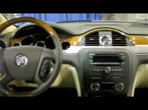 buick enclave  depth interior  exterior overview