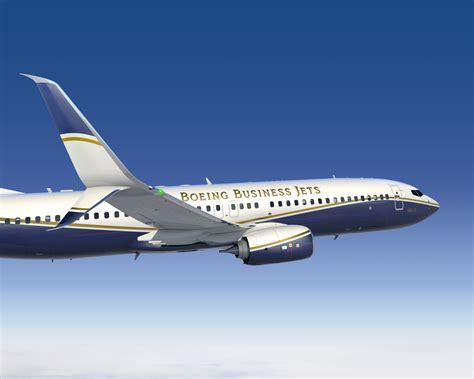 Boeing Business Jets Unveils Split Scimitar Winglets For