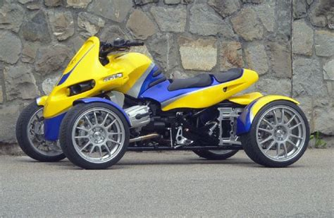 Four Wheel Motorcycle
