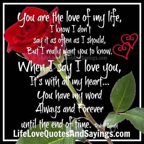 In My Life Forever Quotes